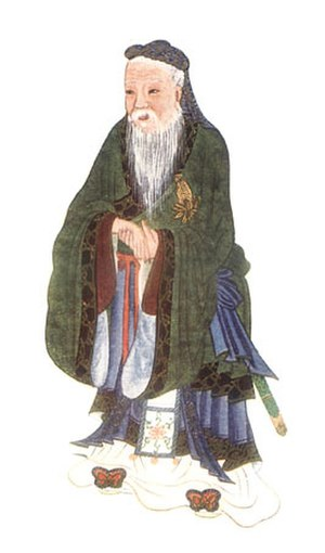 Confucius, illustrated in Myths & Legends of C...