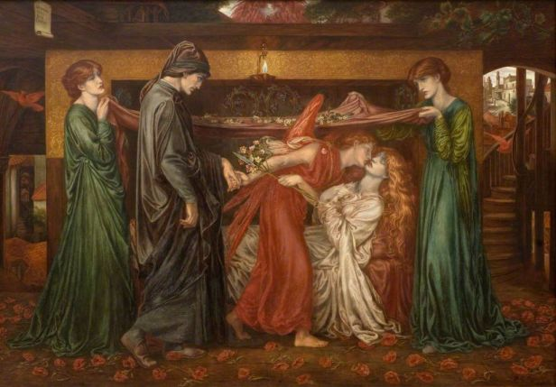 """Dante's Dream"" by Dante Gabriel Rossetti"
