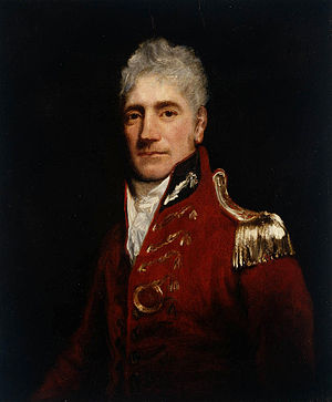 Lachlan Macquarie attributed to John Opie (176...