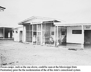 "English: A typical Parchman prison camp ""..."