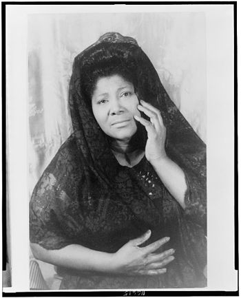Mahalia Jackson, 16 April. 1962