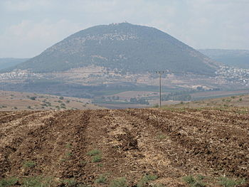 English: Mount Tabor.