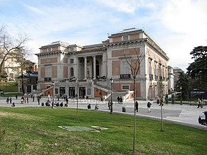 English: North façade of Prado Museum (Madrid,...