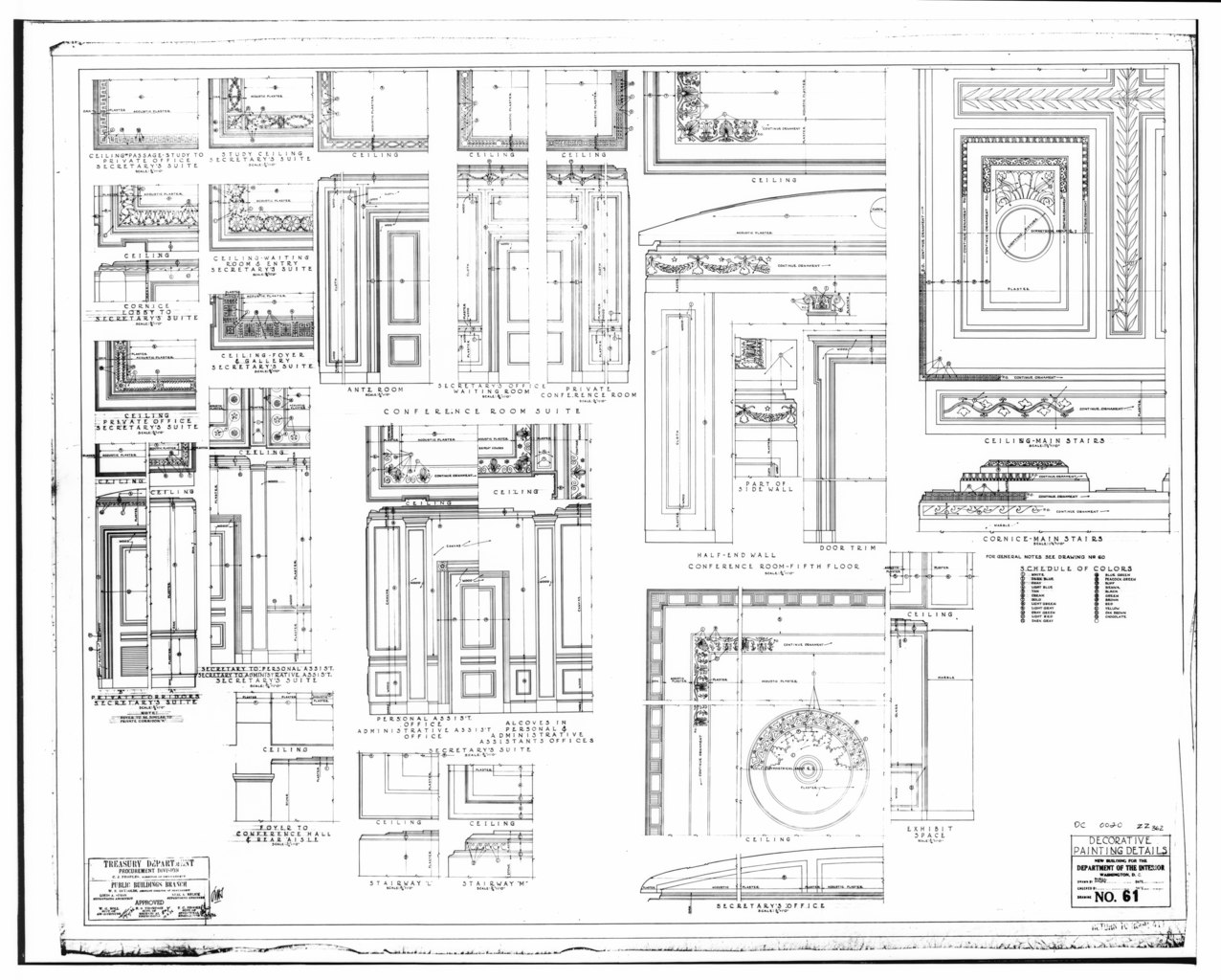 File Photocopy Of Measured Drawing From National Record