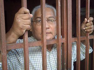 El prisionero en esta fotografía apodado Maest...