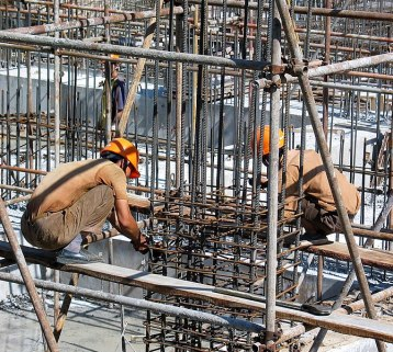 Rebar Tying in Beijing