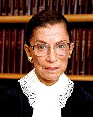 Official portrait of Supreme Court Justice Rut...