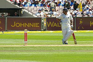 Sachin Tendulkar, Indian cricketer. 4 Test ser...