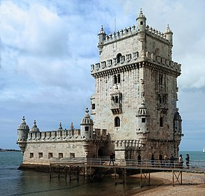 English: The Tower of Belém, Lisbon, Portugal....