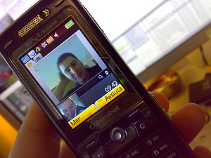 Video call between Sweden and Singapore, on So...