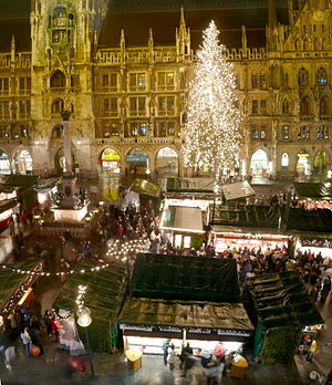 English: Christmas market at Munich