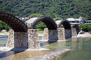 錦帯橋(2010年7月)