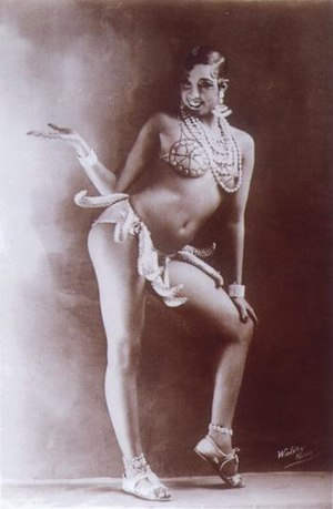 "Joséphine Baker: ""Girdle of Bananas""..."