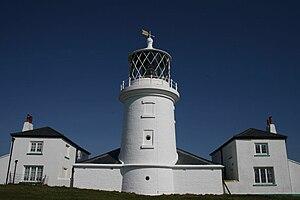Caldey Island (Ynys Byr) lighthouse, Southern ...