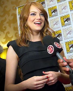 English: Emma Stone at the 2011 San Diego Comi...