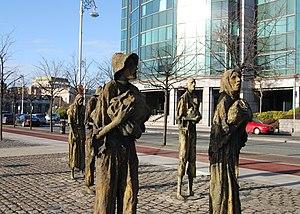 Famine memorial, Dublin, Irealand.