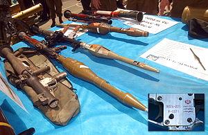 August 14, 2006 Iran manufactured anti-tank mi...