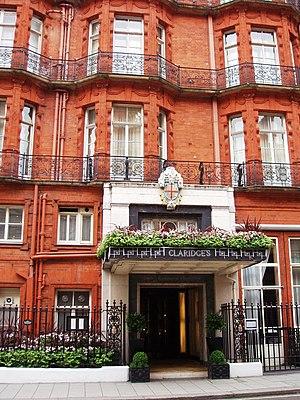 English: Gordon Ramsay at Claridge's, Mayfair, W1