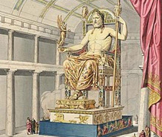 Estatua De Zeus Em Olimpia