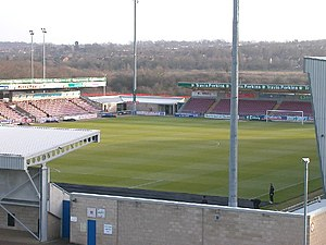 English: Northampton - Sixfields. Home of Nort...