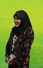 Saleha, the Queen Consort of Brunei