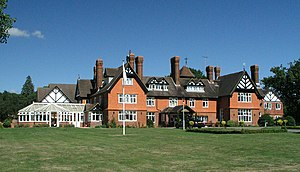 English: Rapkyns. This country house is now a ...