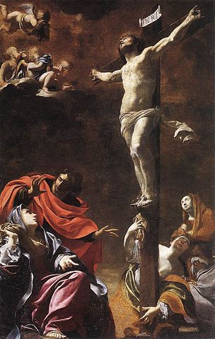 The Crucifixion by Simon Vouet