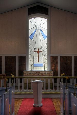 Värsjö småkyrka, small church in Skånes Värsjö...
