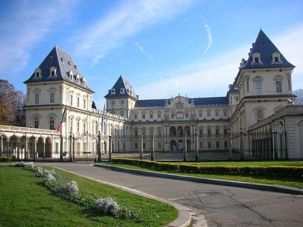 The Castello del Valentino (wikimedia.org)