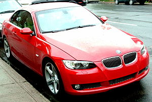 2007 BMW E93 3-Series photographed in Montreal...