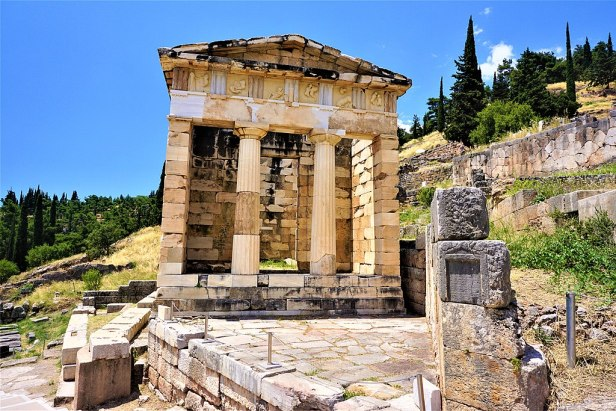 Athenian Treasury (Delphi) by Joy of Museums