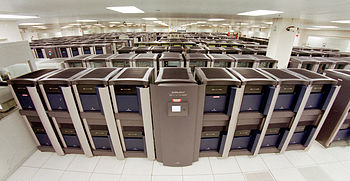Former Blue Mountain Supercomputer facility at...