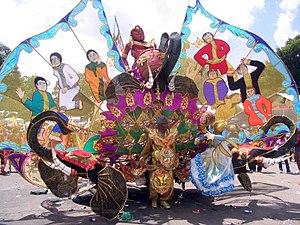 A Carnival Costume in Trinidad's Carnival
