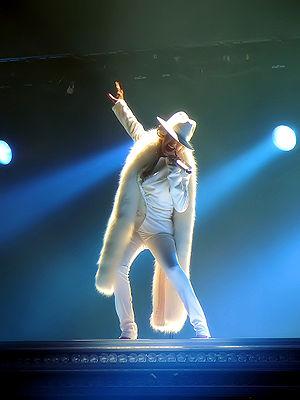 Deutsch: Christina Aguilera bei einem Konzerta...