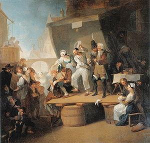 Franz Anton Maulbertsch's The Quack (c. 1785) ...