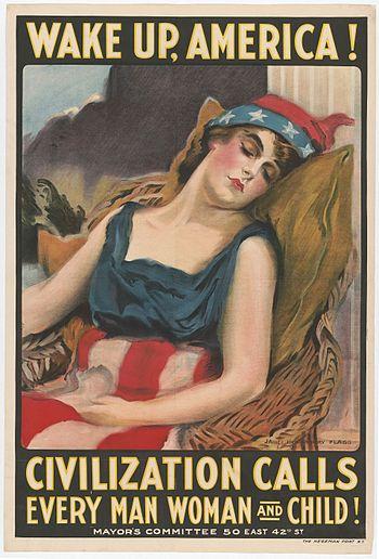 """Wake Up America! Civilization Calls Ever..."