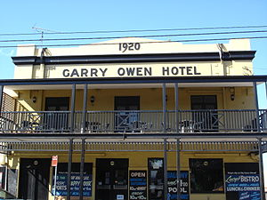 Garry Owen Hotel, Rozelle, New South Wales