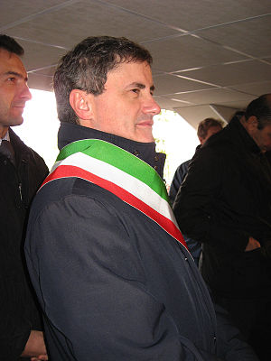 Gianni Alemanno, Mayor of Rome.