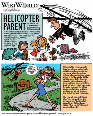 "WikiWorld comic based on the article ""Hel..."