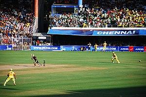 A photo of a match between Chennai SuperKings ...