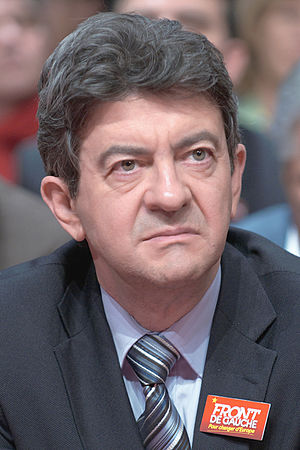 English: Jean-Luc Mélenchon during the launch ...