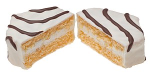 English: Little Debbie Zebra Cakes, made by Mc...