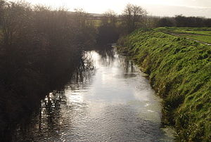English: Little Stour looking upstream