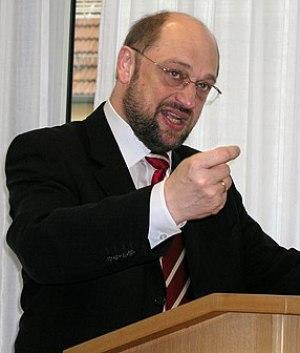 Martin Schulz, Europapolitiker SPE,