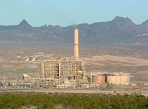 Mohave Generating Station, a 1,580 MW thermal ...