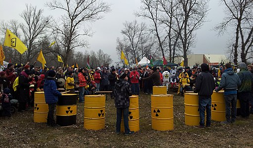 Protest against Fessenheim nuclear power plant 07