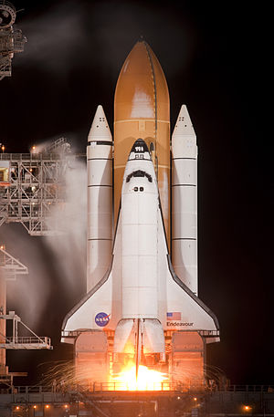 STS-130 launching 1