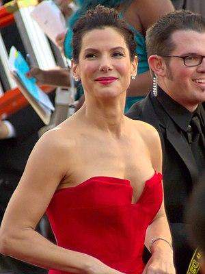 Actress Sandra Bullock at the 83rd Academy Awards.