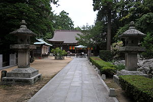English: Tonshōjiden temple, Shiromine-ji 日本語:...