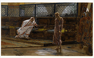 Christ before Pilate from the series The Life ...